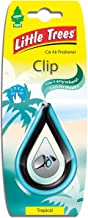 Air Freshener - LITTLE TREES 'Clip' - 'Tropical' Fragrance LTC005 - For Car And Home - 1 Unit