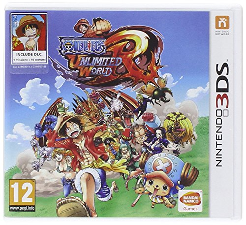 3DS ONE PIECE UNLIM WORLD RED D1