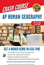 AP® Human Geography Crash Course, For the New 2020 Exam, Book + Online (Advanced Placement (AP) Crash Course)
