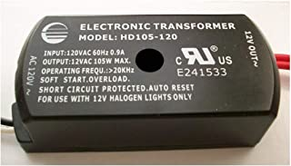 105W ELECTRONIC LOW VOLTAGE HALOGEN TRANSFORMER HD105-120