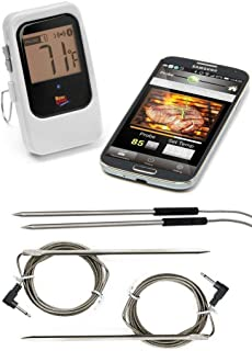 Maverick ET-735 Wireless BBQ Turkey Thermometer - Includes 2 Additional 6-Foot Hybrid Probes