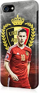 Eden Hazard Belgium Team URBSFA KBVB Hard Plastic Phone Case Cover Shell For iPhone 7