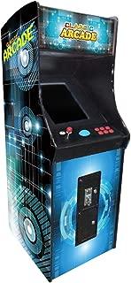 Creative Arcades Full-Size Commercial Grade Cabinet Arcade Machine | Trackball | 412 Classic Games | Sanwa Joystick | 2 Stools | 3-Year Parts Warranty