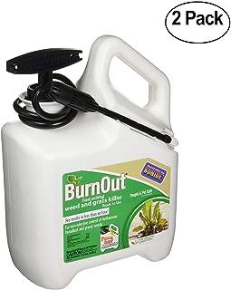 Bonide Pest Repellents (Bonide 7495 1.33 Gallon Burnout Weed & Grass Killer - Pack of 2)