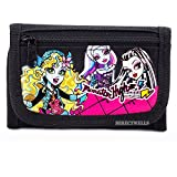 Monster High Tri-Fold Black Wallet