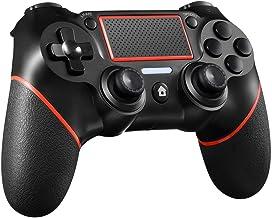 Consola de mando inalámbrico Bluetooth Controller PS4 juego Gamepad for PlayStation Dualshock instantáneo, puesta en común de las palancas de mando Panel táctil Gamepad con vibración dual