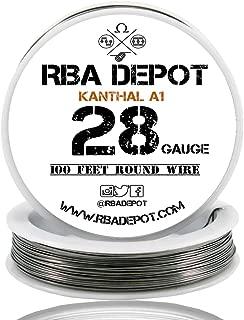 [RBA DEPOT] 100ft - 28 Gauge AWG KA1 FeCrAl Alloy Kanthal Resistance Wire A1