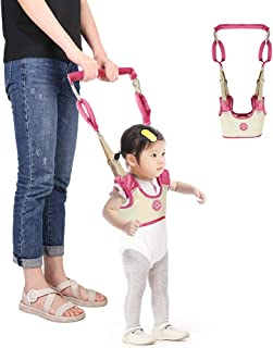 Accmor Baby Walking Harness Assistant Handheld Toddler Walker Stand Up Walking Learning Helper for Infant Child, Adjustable Breathable Pulling and Lifting Dual Use