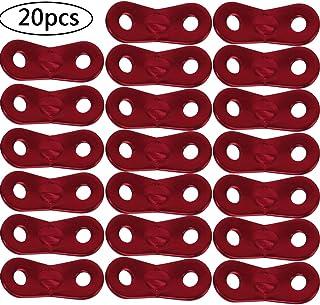 BETOY 20pcs Tensores de Cuerda - Tent Rope Fastener Aleació