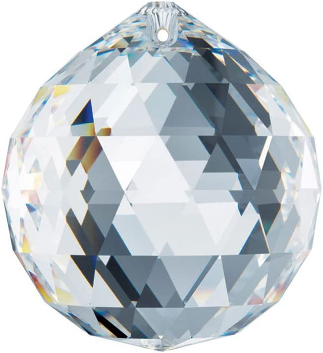 5 ☆ Super beauty product restock quality top! very popular 40mm Swarovski Strass Clear Crystal Ball 8558-40 Prisms