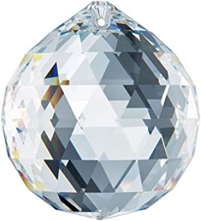 Swarovski Spectra Crystal 40mm Clear Lead Free Feng Shui Crystal Ball Prism Made in Austria with Certificate