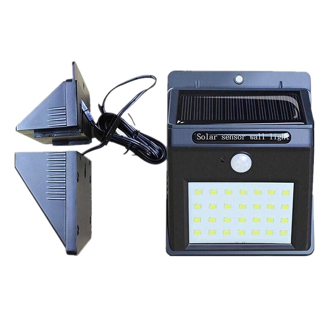 一緒に震え化石ソーラーライト 屋外 人感センサーセンサーライト 防水 高輝度 28 LED 屋外ウォールライト 防犯灯三つの点灯モード ソーラーパネルとライト分離型 玄関/駐車場/庭先 屋外照明