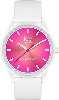 Ice-Watch - ICE solar power Coral reef - Montre blanche pour femme avec bracelet en silicone