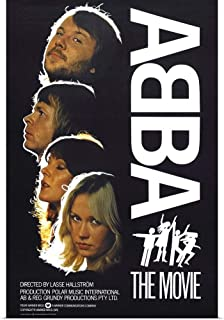 GREATBIGCANVAS Poster Print ABBA: The Movie - Vintage Movie Poster by 24