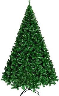 aipipl Arbre de Noël DIY Ornements Support en métal à charnière Sapin de Noël écologique Vert Décoration Festive Sapin Art...