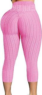 INSTINNCT Yoga Pants High Waist Textured Scrunch Butt Lift Leggings Workout Running Tights for Women