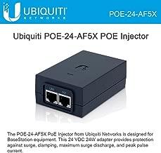 Ubiquiti POE-24-AF5X POE Injector 24VDC 24W AF-5X AirFiberX BaseStation Radios