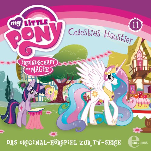 Celestias Haustier (My Little Pony 11) Titelbild