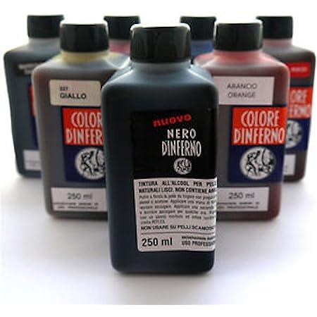 Nero DInferno - Alto Tintura Leather Tinte / Tinta - 250ml - Suministrado de graff-city - Azul Oscuro, 250ml