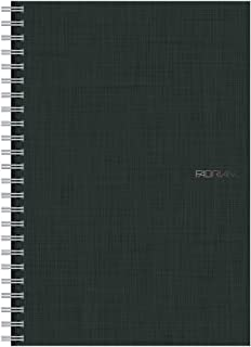 Fabriano EcoQua Notebooks Spiral Grid Black 5.8 in. x 8.25 in.