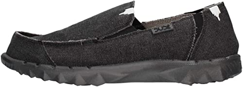 Dude chaussures Hommes's Farty Classic Jet noir Slip On   Mule