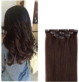 """Sponsored Ad - 14"""" Clip in Hair Extensions Remy Human Hair for Women - Silky Straight Human Hair Clip in Extensions 50gram..."""
