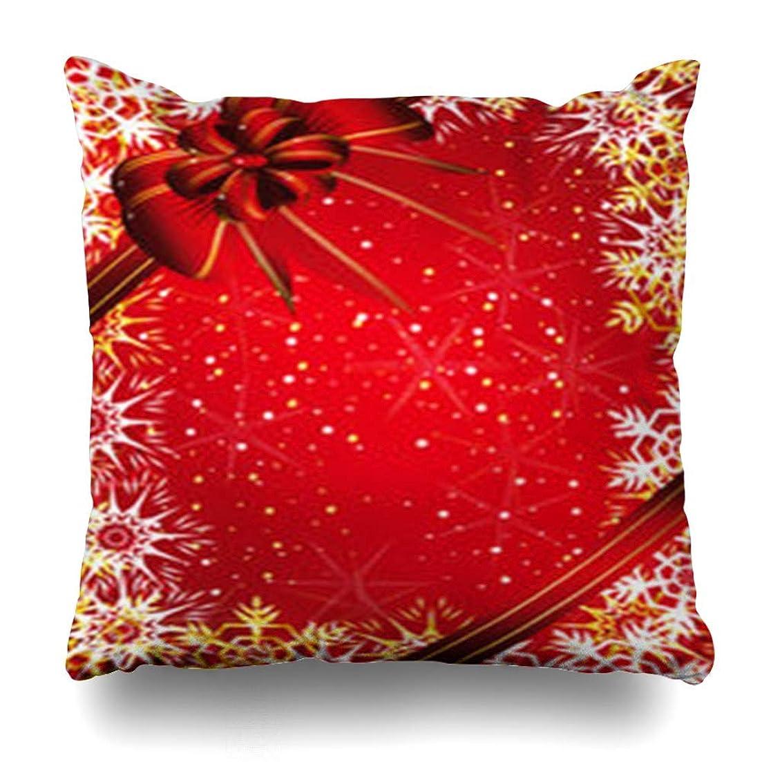 スクランブル氏飾るスロー枕カバー冬クリスマスネイチャーツリーホリデークリスマスモミ白Snowflakedesign定型化ホームデコレーションクッションケースSquare18 * 18インチ装飾ソファ枕カバー