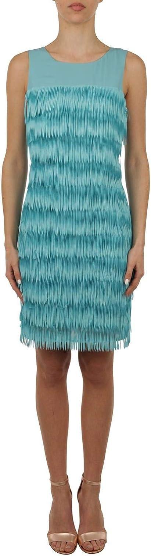 Patrizia Pepe Women's 2A1783A3ECC696 Light bluee Polyester Dress