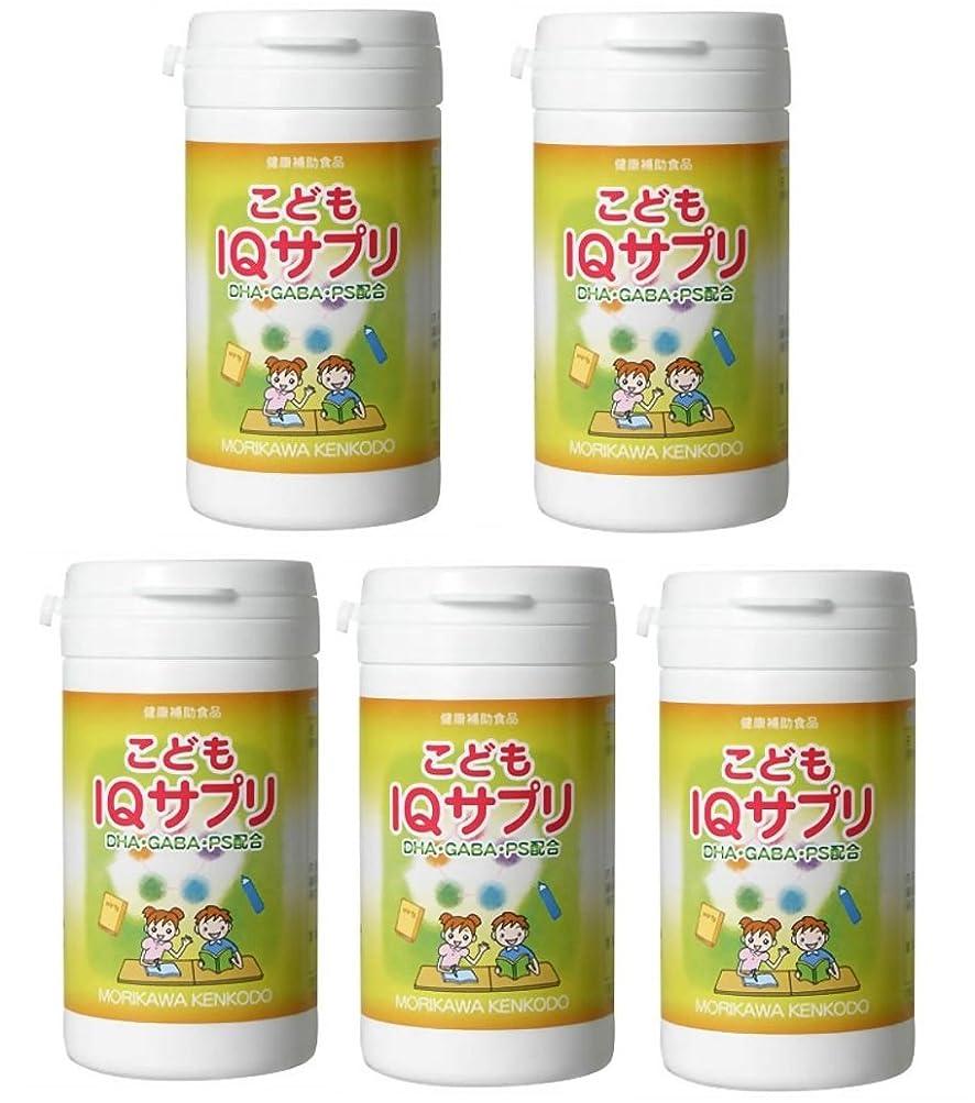 腹部モットークライマックス【X5個セット】 森川健康堂 こどもIQサプリ 90粒