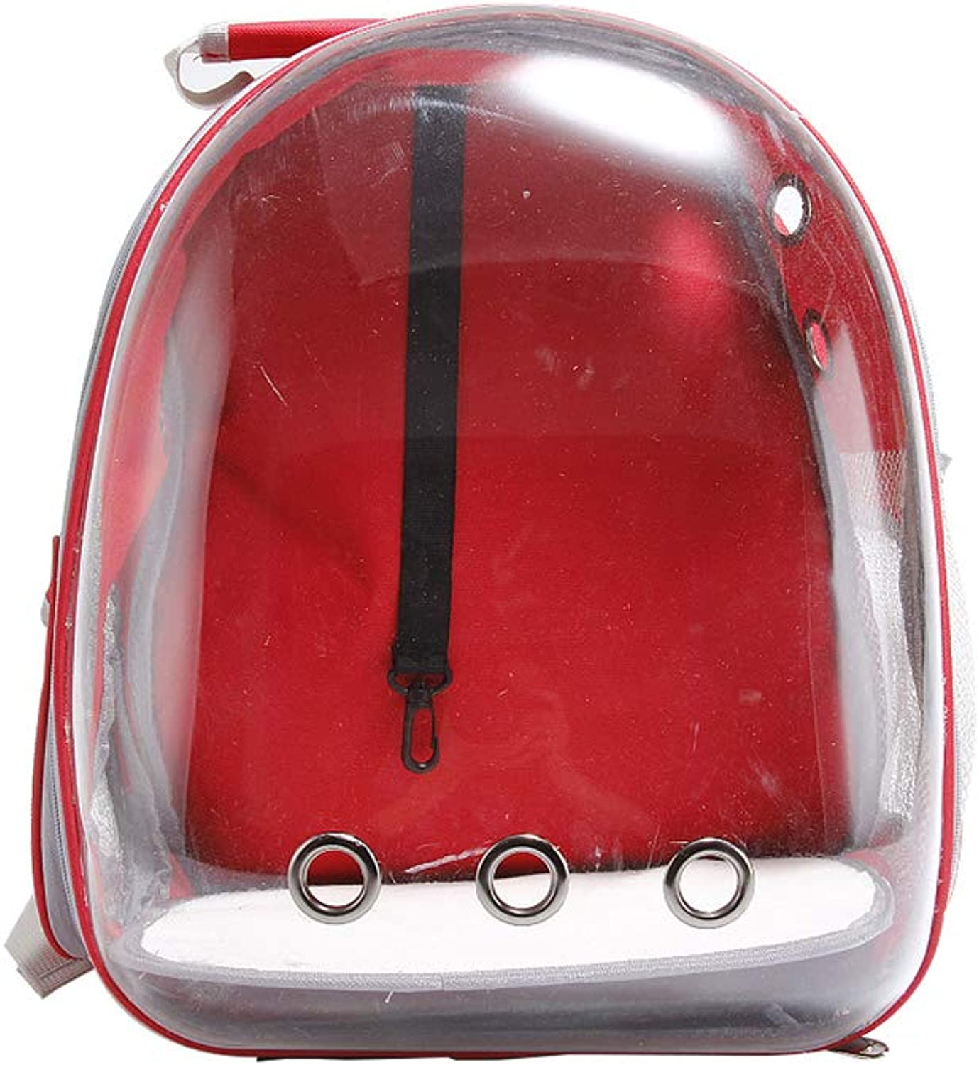c7df7005059b QAQ And Dog Pet Backpack PC Space Go Out Transparent Portable,D,29 ...