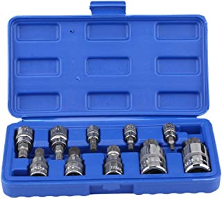 Cuque 6pcs 1//4 1//2 3//8 3//4 inch Auto Premium Impact Socket Adapter and Reducer Set for Impact Driver Conversions