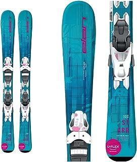 ELAN Starr Kids Skis EL 7.5 Bindings