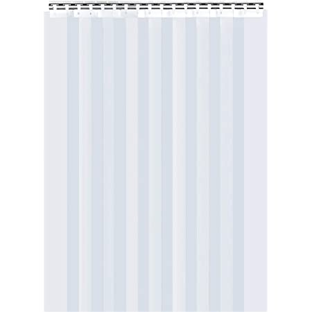 - 8 in Strip-Curtains.com: Vinyl Strips thickness: 0.08 in. Door Replacement Strips 7 ft 10 in. X 94 in. Common Pack of 4 Strips width Standard Smooth height
