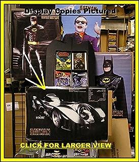 BATMAN MOVIE 1989 BATMOBILE ORIGINAL POSTER SEALED