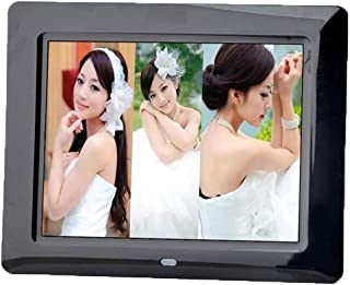 HUALEIYUAN AU New 8 inches LCD TFT Multifunctional Picture Digital Photo Frame with MP3/MP4 Player Digital Frame (Color : ...