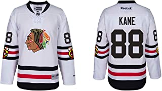 Reebok Chicago Blackhawks Adult Patrick Kane 2017 Winter Classic Premier Jersey - Team Color #88,