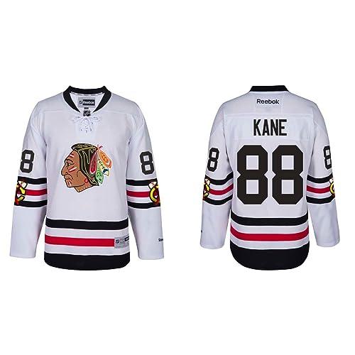 Reebok Chicago Blackhawks Adult Patrick Kane 2017 Winter Classic Premier  Jersey - Team Color  88 04d495e2e