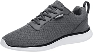 Nebwe Men's Work Shoes Steel Toe Shoes Work Sneakers Kevlar Anti-Piercing Light Weight Breathable Lm112-W Summer