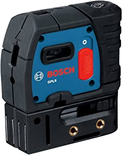 Bosch GPL5-RT 5 Point Self Leveling Alignment Laser (Certified Refurbished)