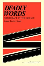 Deadly Words: Witchcraft in the Bocage