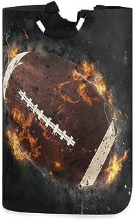 Panier à linge de football américain de sport, boîte de panier à linge de l'espace extra-atmosphérique grand stockage impe...