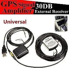 succeedw Señal De GPS 1575.42 MHz Transmisor Receptor De Antena para Navegación De Automóvil, 5V USB Coche SUV GPS Amplificador De Antena Receptor Repetidor Kit De Navegación