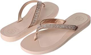 Guess Thong Slipper for Women Size 37.5 EU - Pink