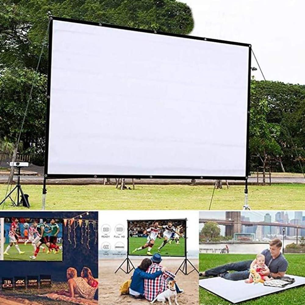 AFXOBO Projector 日本製 Screen 16:9 当店は最高な サービスを提供します Projection Outdoor HD Indoor