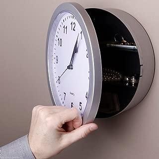 GSG Home Series Clock Safe Hidden Wall Secret Jewelry Security Money Compartment Stash Box