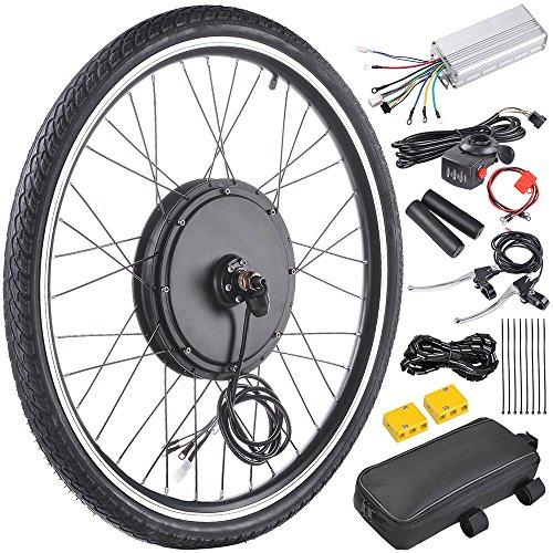 ReaseJoy 36V 500W 26″ Front Wheel Electric Bike Motor Conversion Kit