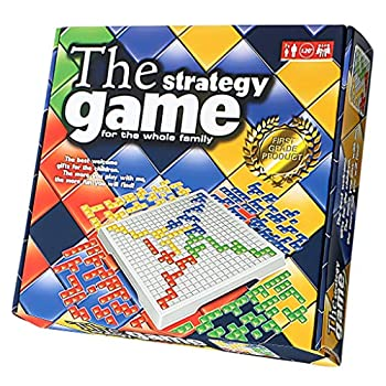 Blokus Board Game - Kids&Adult Strategy Game 4 Multi-Colour Blocks Educational Toys for 4 Player