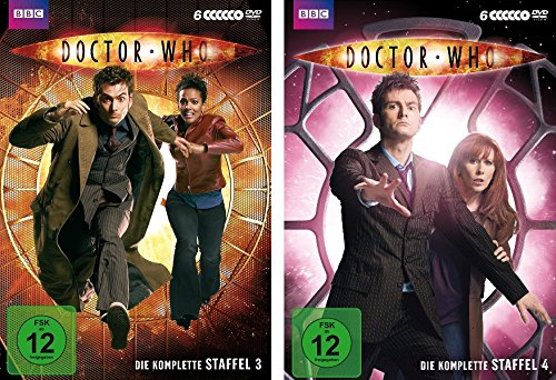 Doctor Who - Staffeln 3+4 (12 DVDs)