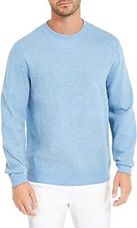 Tommy Bahama Mens Sweater Blue US 3XL Crewneck Reversible Flip Side