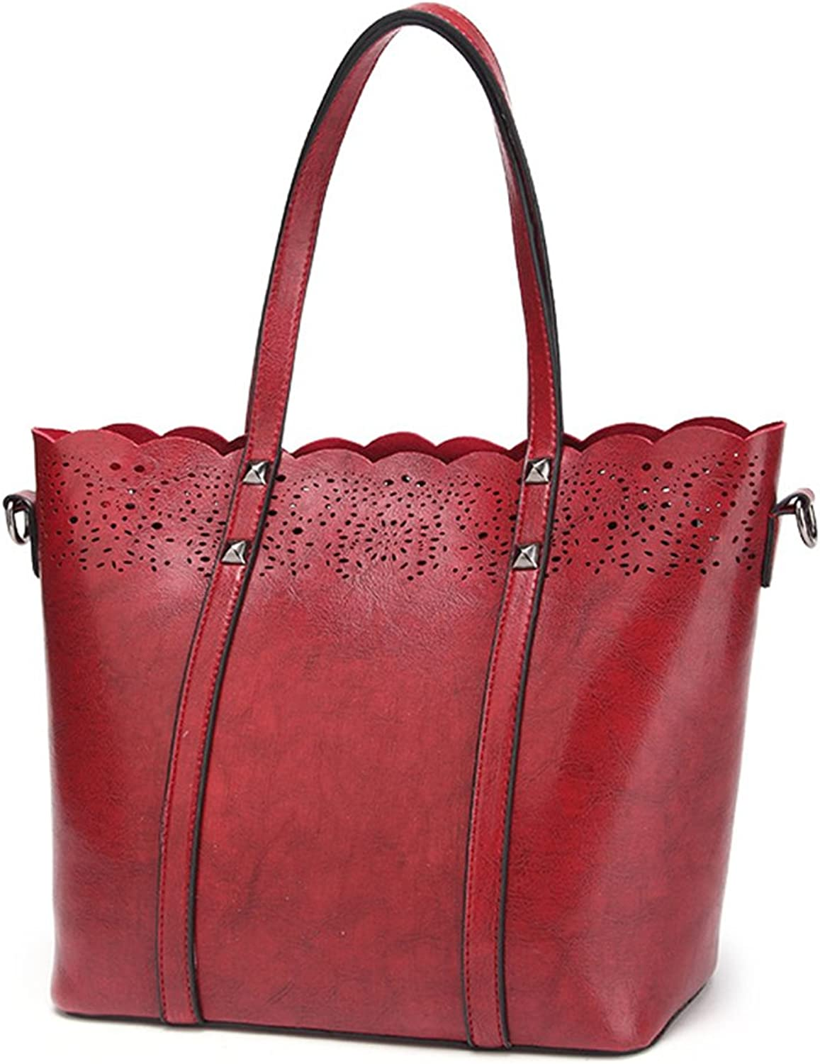 Srilemes New Simple Retro Single Shoulder Handbag Leather Handbags